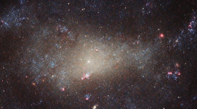 Una galaxia tenue y difusa en la constelación de Canes Venatici