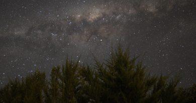 La Vía Láctea desde San Felipe, Chile