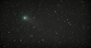 Foto del Cometa C/2015 V2 (Johnson) tomada el 21 de julio