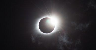 Fotografía del eclipse total de Sol desde Kentucky, EE. UU.