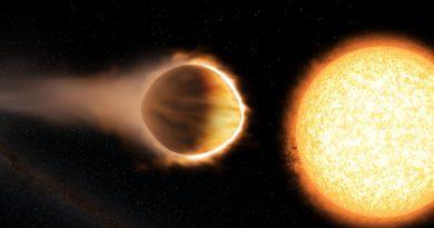 La ardiente estratosfera de un exoplaneta gigante