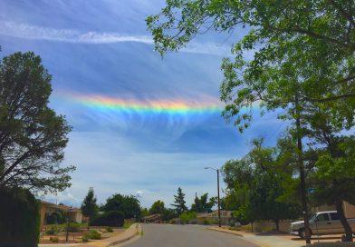 Arco circunhorizontal desde Nuevo México, Estados Unidos