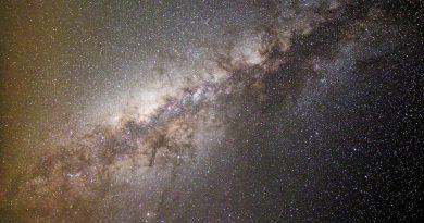 La Vía Láctea desde Arizona, Estados Unidos