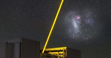La luz nocturna del Telescopio VLT