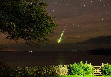 Foto de un bólido desde la isla de Mull, Escocia