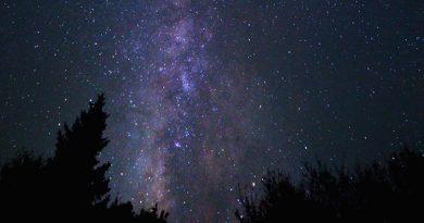 La Vía Láctea desde Carolina del Norte, Estados Unidos