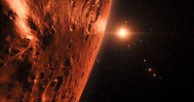 Los exoplanetas exteriores del sistema TRAPPIST-1 podrían contener grandes cantidades de agua