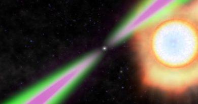 Descubren un púlsar que gira a más de 42.000 revoluciones por minuto