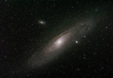 Imagen de la Galaxia de Andrómeda (11 de septiembre de 2017)