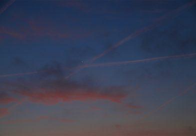 Venus al amanecer en Arenys de Munt (Barcelona)