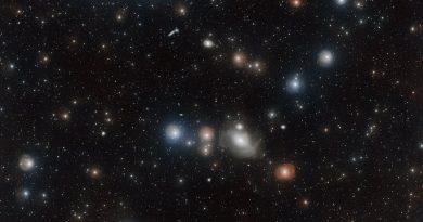 El cúmulo de Fornax, uno de los cúmulos galácticos más ricos y cercanos a la Vía Láctea