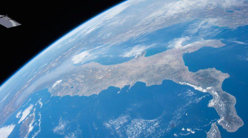Imagen de Italia desde la Estación Espacial Internacional