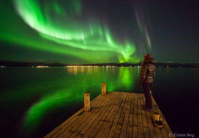 Auroras boreales desde Tromsø, Noruega