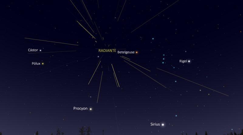 La lluvia de meteoros de las Oriónidas alcanzará su máxima actividad la noche del 21-22 de octubre