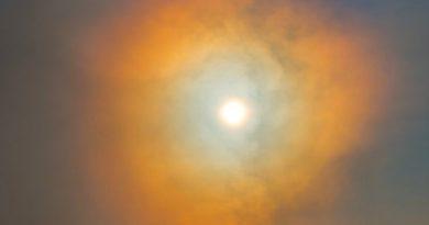 Imagen de una corona solar desde Ohio, Estados Unidos