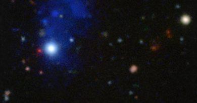 El observatorio VLT capta un cuásar del Universo primitivo
