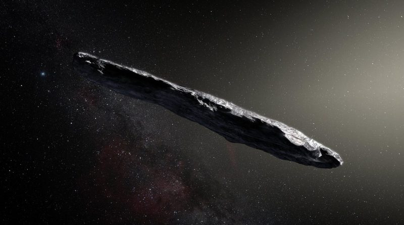 Observaciones muestran que el primer asteroide interestelar no se parece a nada visto antes