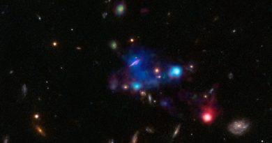 Una gigantesca burbuja cósmica en la constelación del Sextante