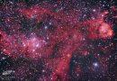 Imagen de la Nebulosa Corazón (IC 1805)