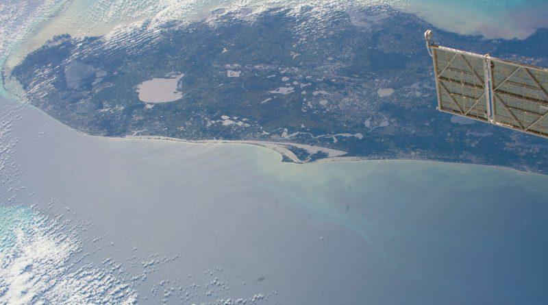 La península de Florida desde la Estación Espacial Internacional
