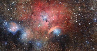 Sharpless 29: una guardería de estrellas en la constelación de Sagitario