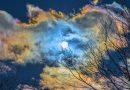 Nubes iridiscentes desde Ohio, Estados Unidos