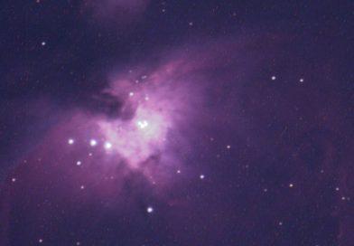 Imagen de la Nebulosa de Orión (Messier 42)