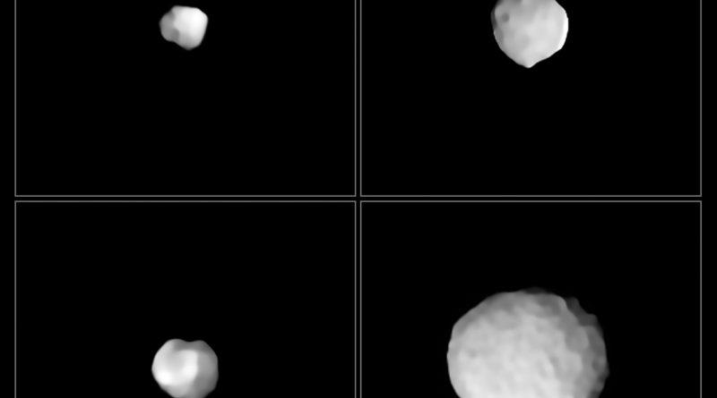 Los mundos rocosos del Cinturón de Asteroides