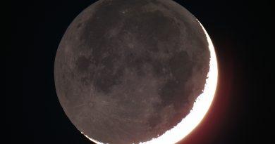 Calendario Astronómico para el mes de Febrero de 2018
