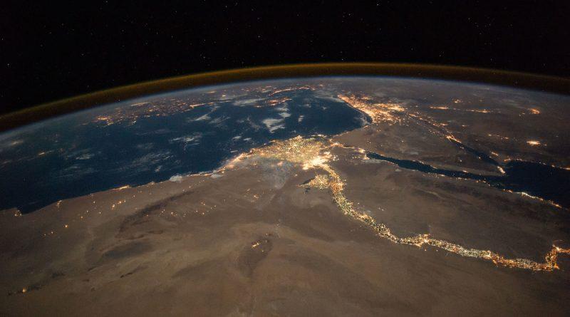 El Cairo y el río Nilo desde la Estación Espacial Internacional