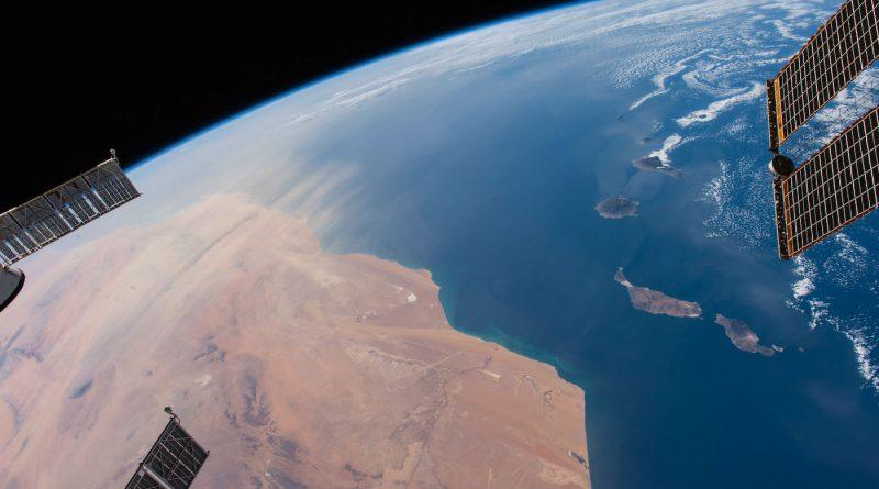 Las Islas Canarias desde la Estación Espacial Internacional