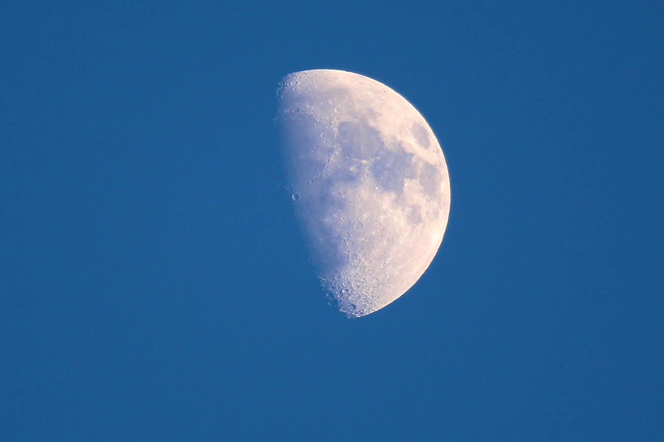 Foto de la luna gibosa creciente 27 diciembre el for Proxima luna creciente