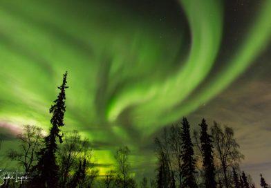 Auroras boreales desde Alaska (12-diciembre-2017)