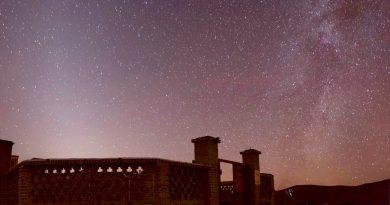 La Vía Láctea desde Jorasán del Sur, Irán