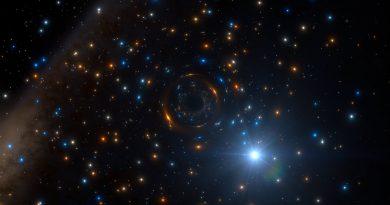 Detectan la presencia de un agujero negro en un cúmulo estelar gigante