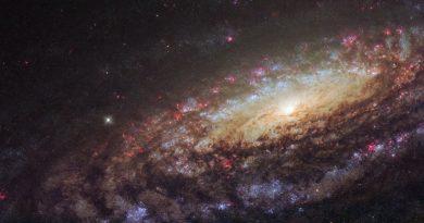 Una galaxia similar a la Vía Láctea en la constelación de Pegaso