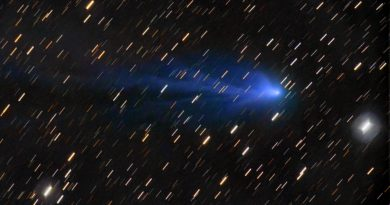 Imagen del Cometa C/2016 R2 (PANSTARRS) tomada el 17 de enero