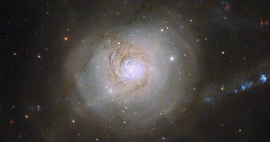 Las consecuencias de una catastrófica colisión galáctica