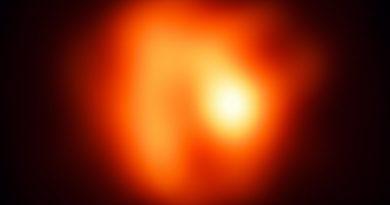 Una estrella gigante roja que muere lentamente