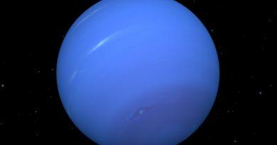 El extraño vórtice oscuro de Neptuno