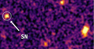 Astrónomos descubren la supernova más distante jamás detectada
