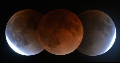 El 21 de enero de 2019 se producirá un eclipse total de Luna