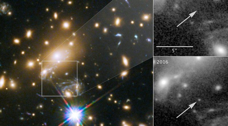 Descubren la estrella más lejana jamás observada