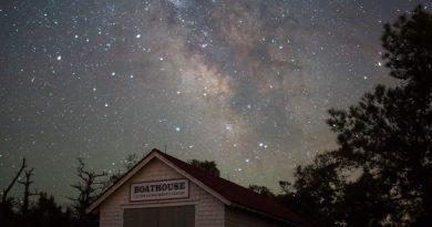 La Vía Láctea fotografiada desde Maryland, Estados Unidos