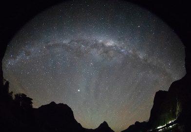 La Vía Láctea fotografiada desde Nueva Zelanda (14-mayo)