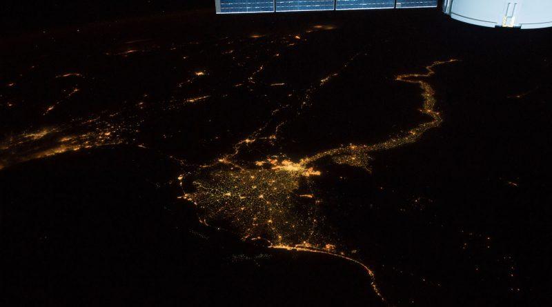 El Cairo y el río Nilo (Egipto) desde la ISS