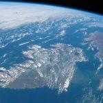 Irlanda y el norte de Gran Bretaña desde la ISS