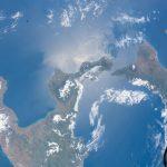 La isla de Sicilia y el sur de Italia desde la ISS