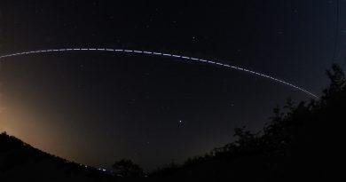 Imagen del paso de la ISS tomada desde Inglaterra