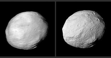 El VLT obtiene nuevas imágenes del asteroide Vesta